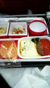 機内食の説明
