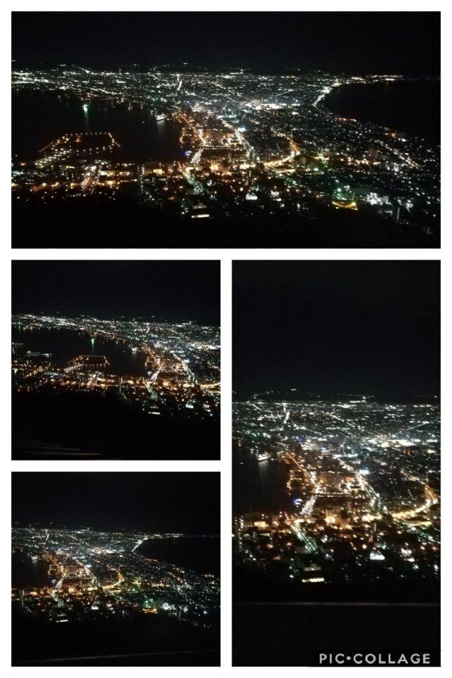 函館山から見える夜景