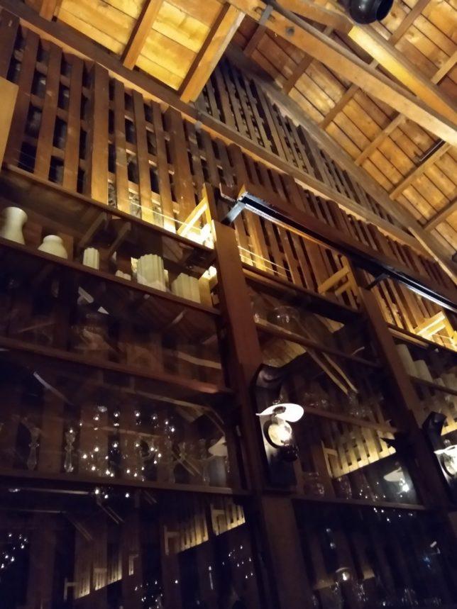 天井までの距離の高さや作りの拡大