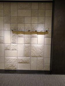 クリエイティブスタジオの入り口付近の目印